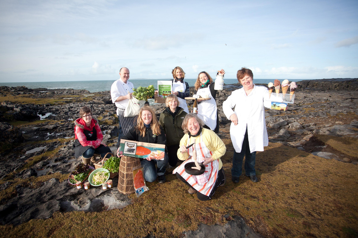 Members of the Burren Food Trail. Photograph by Yvonne Vaughan