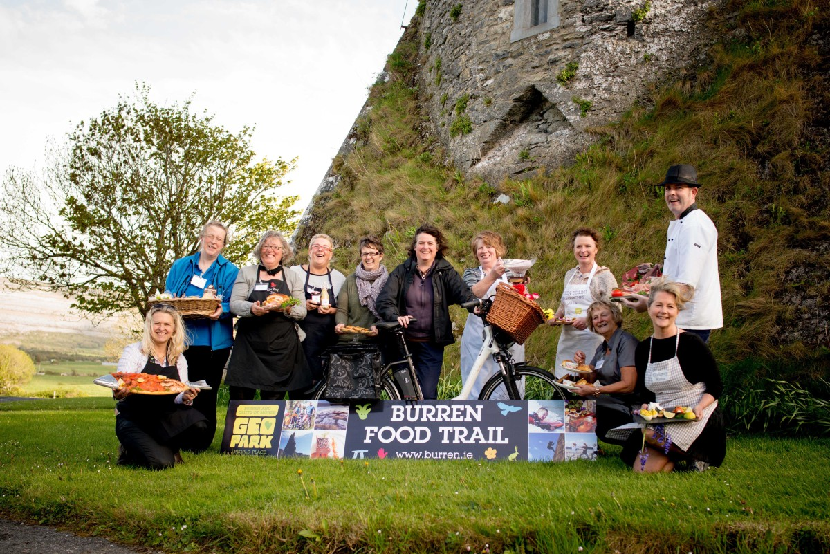 Burren Food Trail members. Pic: Jennifer Martin.
