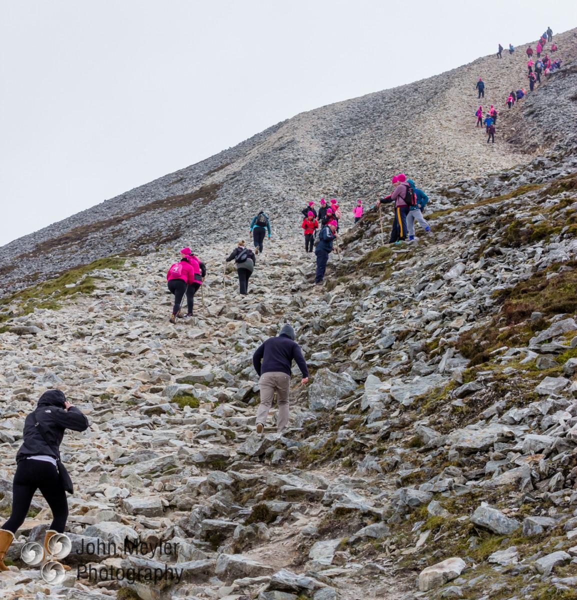 Croagh Patrick Climb. Pic John Meyler