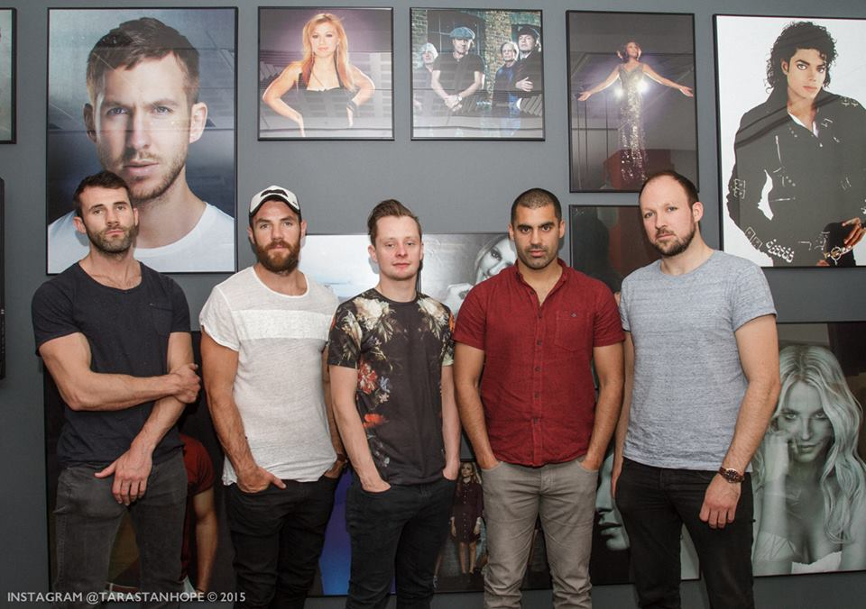 Hermitage Green pictured at their announcement as Sony Music Ireland's newest act. Picture:Tara Stanthope Photography