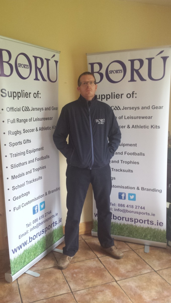 Ború Sports Founder and Manager, Shane Collins
