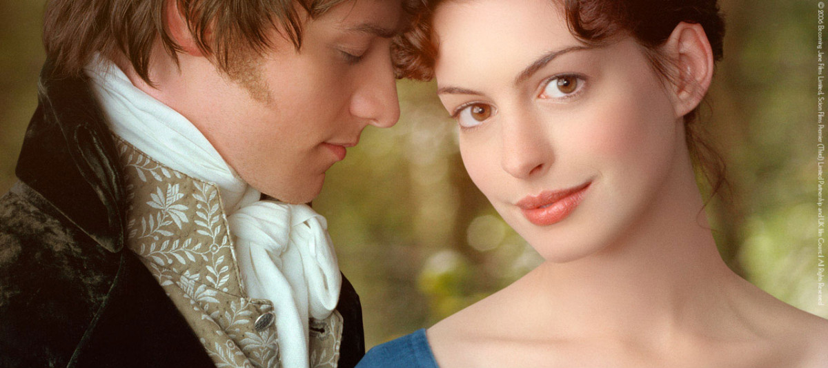 A still from the movie, Becoming Jane, which was shot at Ardmore Studios