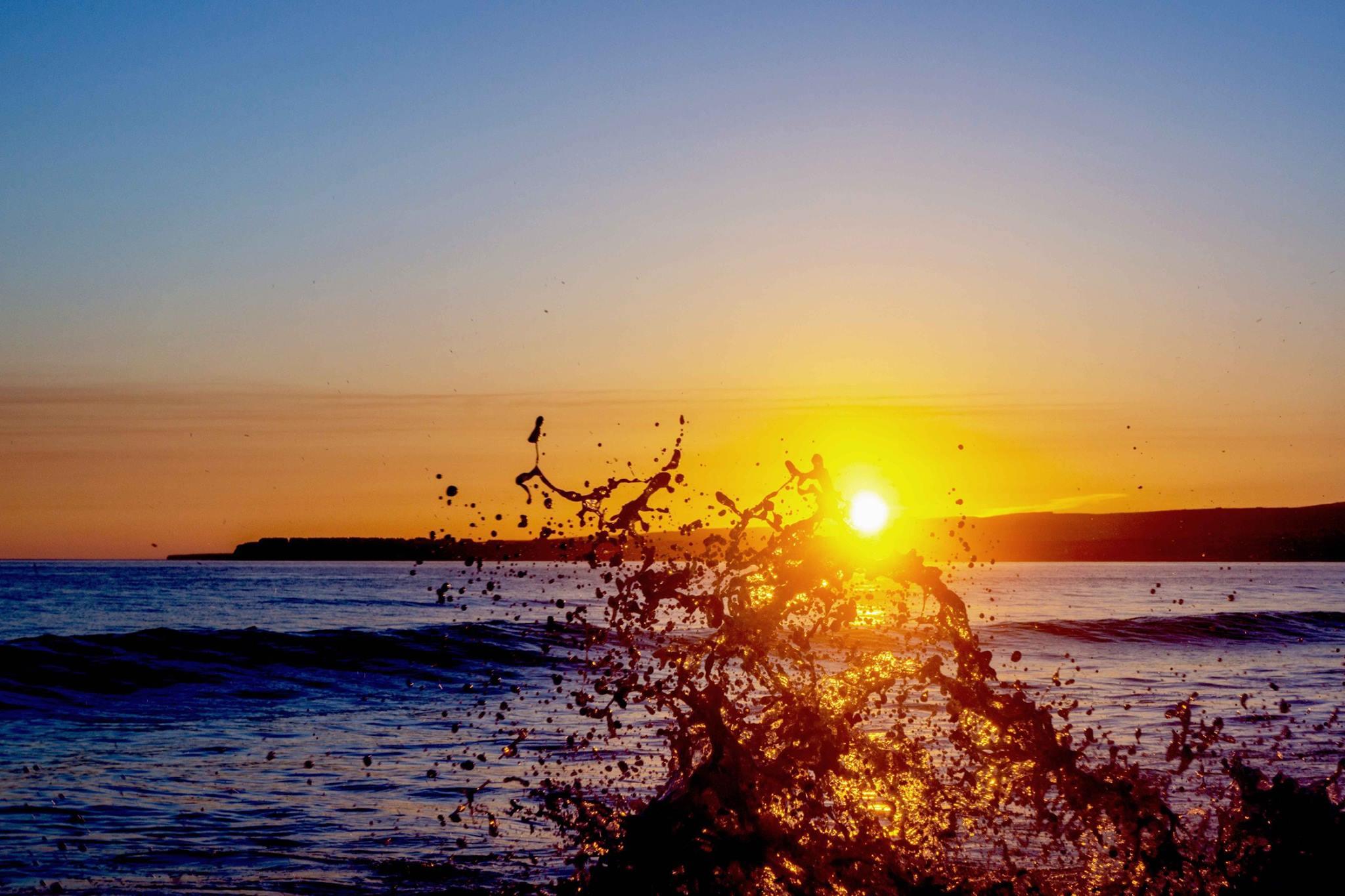 Lahinch sunset. Pic Niall Cosgrove