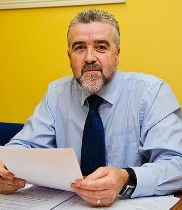Independent Cllr Gerry Flynn