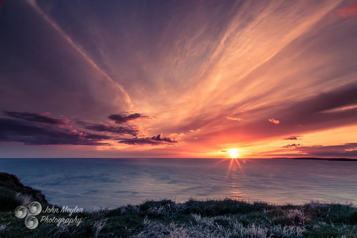 Sunset near Doolin, Co. Clare, in late May. Pic John Meyler Photography
