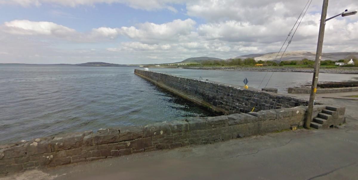Ballyvaughan Pier. Pic Google Earth