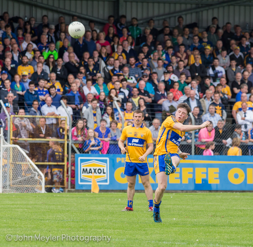 Keelan Sexton did well over the hour for Kilmurry Ibrickane. Pic: John Meyler