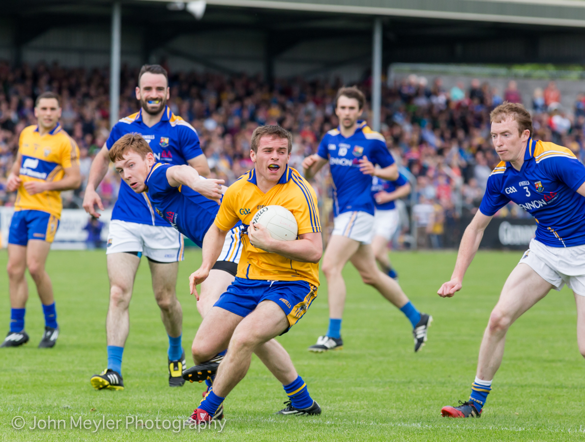 Sean Collins picked up some valuable scores for Cratloe. Picture: John Meyler