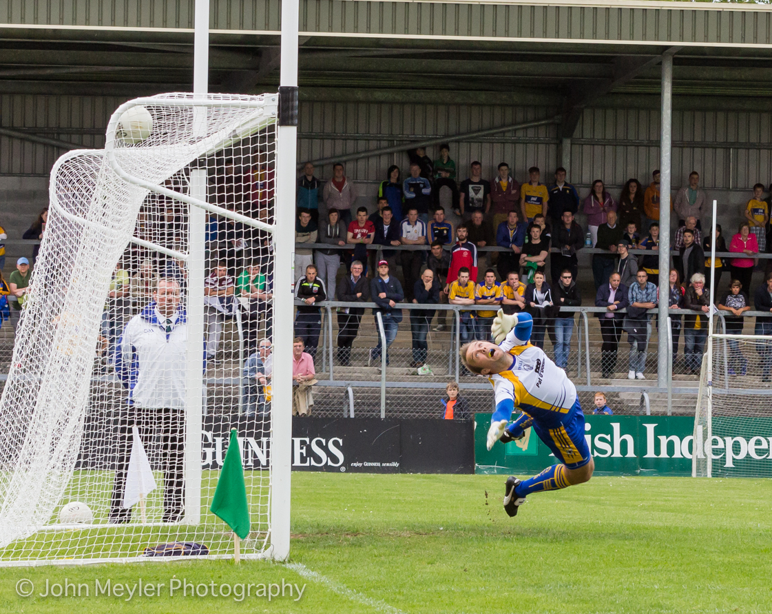 Joe Hayes in action for Clare. Picture: John Meyler