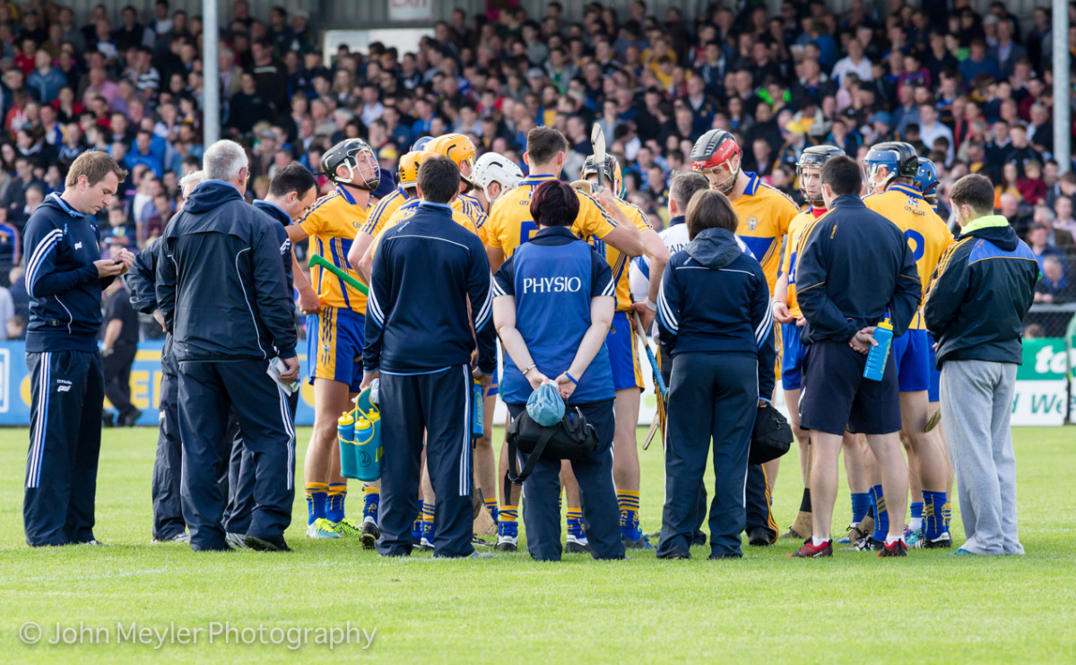 Clare Hurlers v Offaly 4-7-15-1