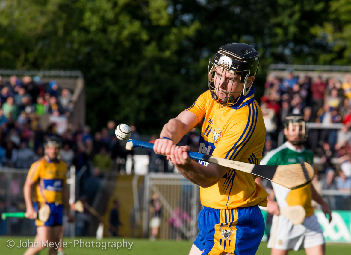 Ballyea's Tony Kelly in action against Offaly in 2015. Picture: John Meyler