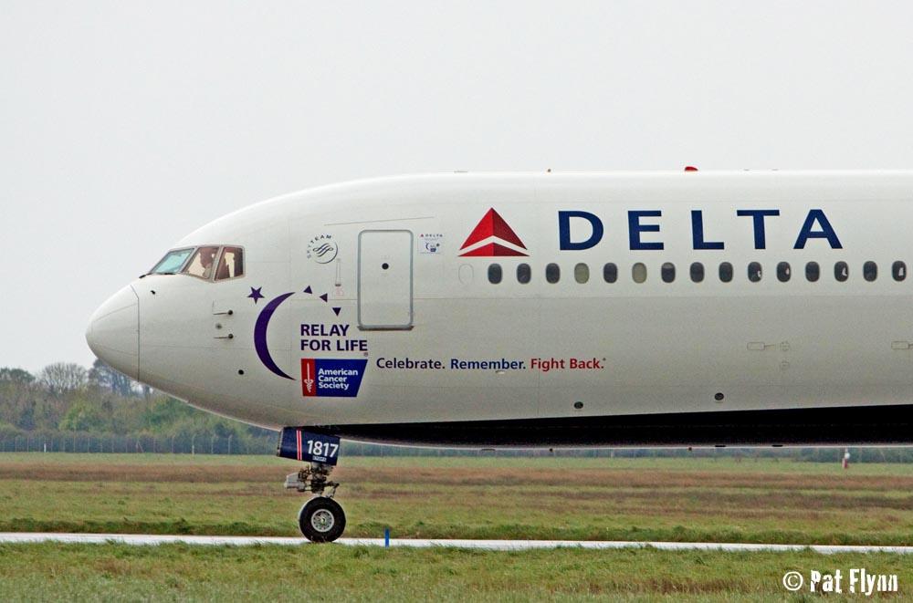 Delta Airlines Boeing 767