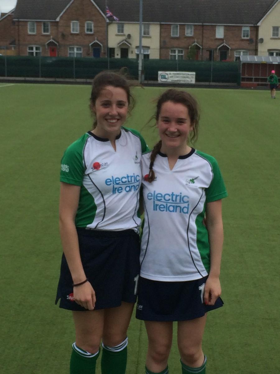 Laura Foley & Roisin Begley Hockey