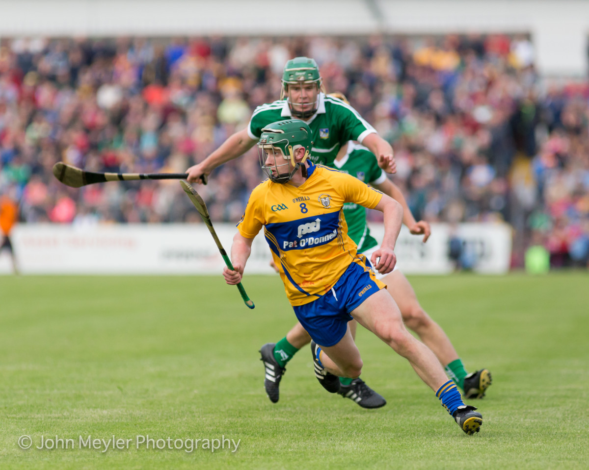 David Conroy was one of Clare's better players. Picture: John Meyler