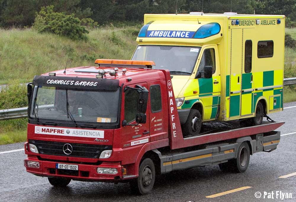 Ambulance Broken Down