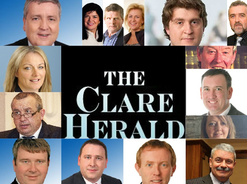 THE CLARE HERALD GENERAL ELECTION CANDIDATES