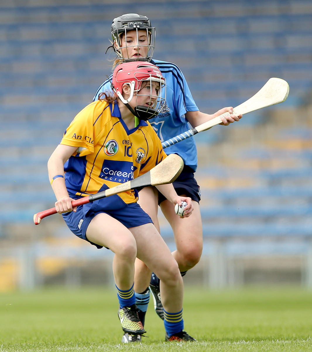 Clare's Andrea O'Keeffe will be a key player for Inagh/Kilnamona. Picture Credit ©INPHO/James Crombie