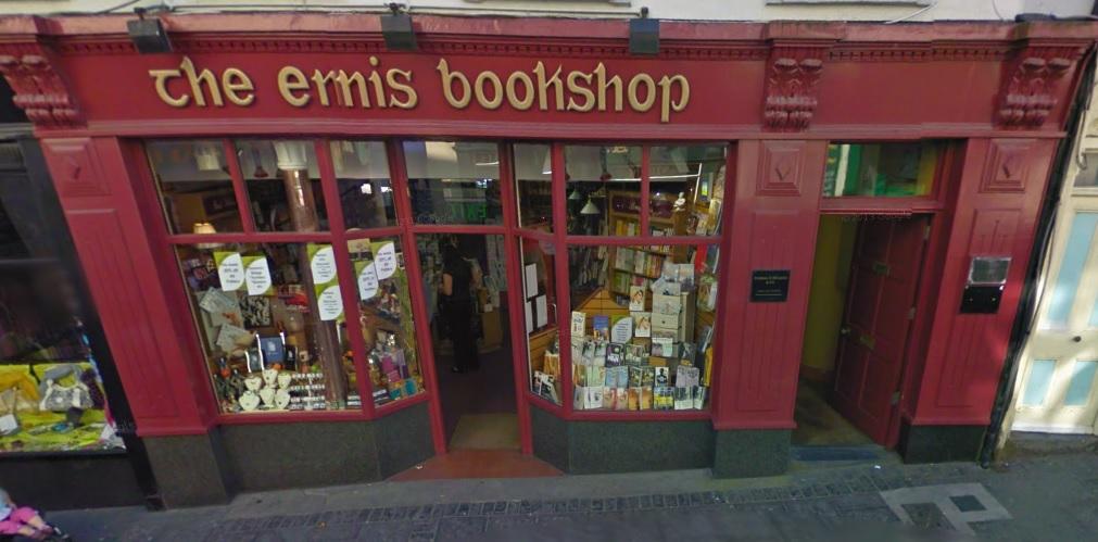 Ennis Bookshop. Pic Google Streetview