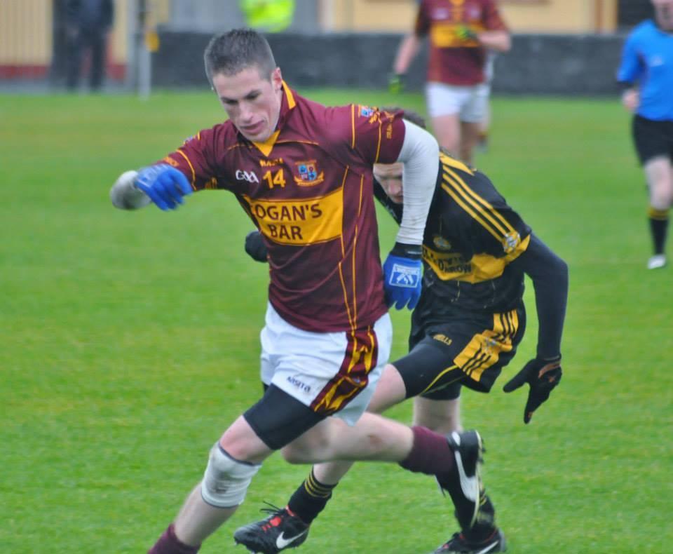 Eoin Cleary hit a vital 1-02 for St Josephs Miltown.