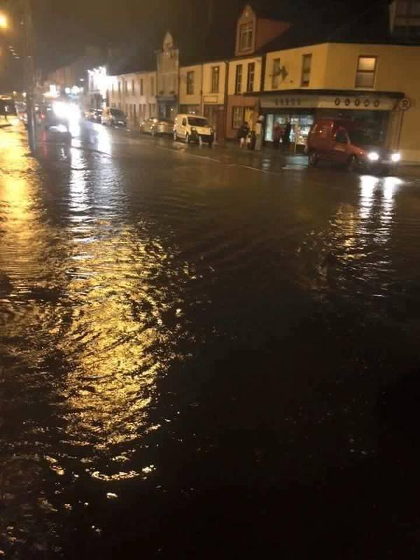 Miltown Malbay flood. Pic Michelle O'Loughlin
