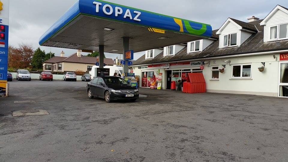 O'Keeffe's Spar shop where last night's winning lotto ticket was sold. Pic Google