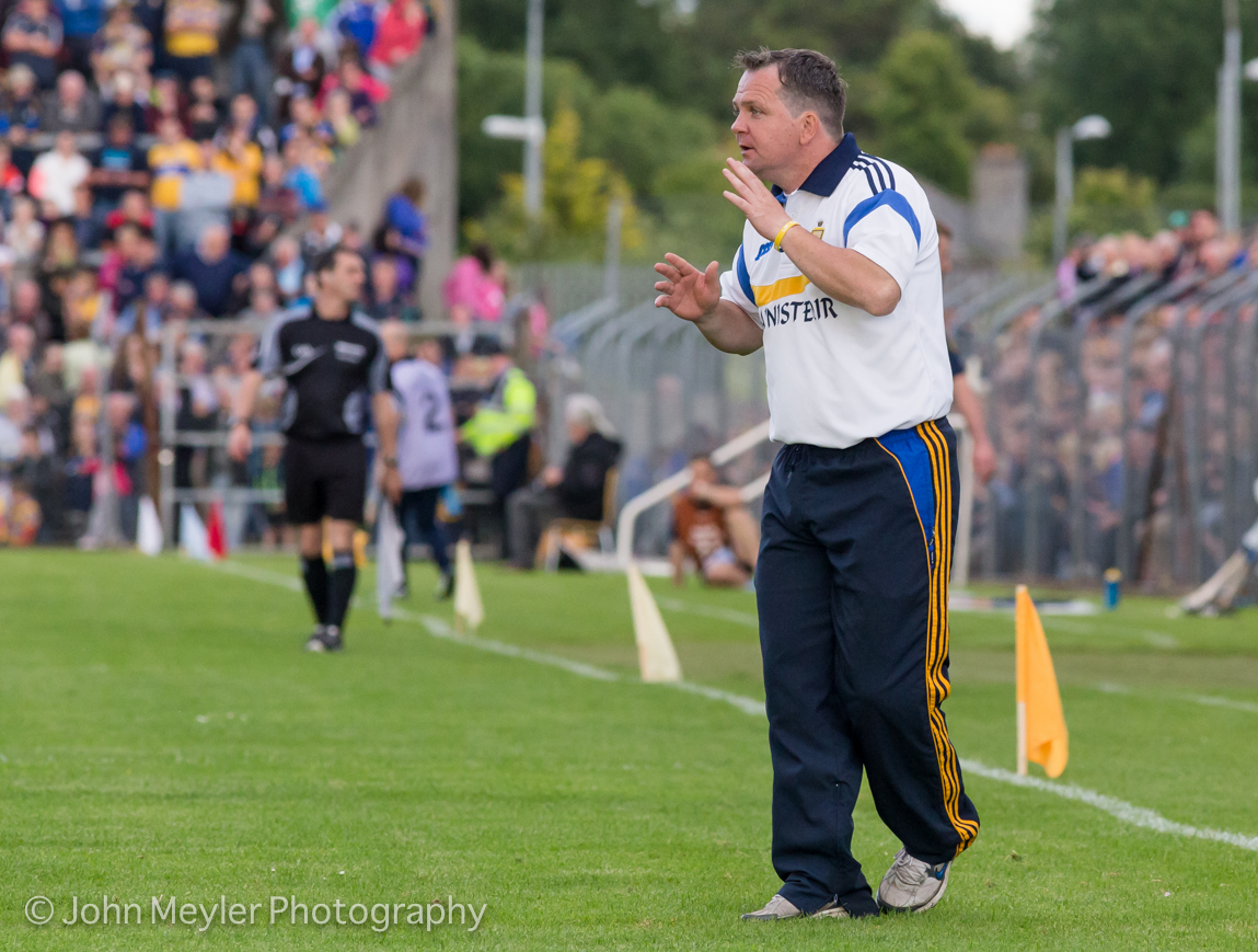 Clare manager Davy Fitzgerald. Pic John Meyler Photography