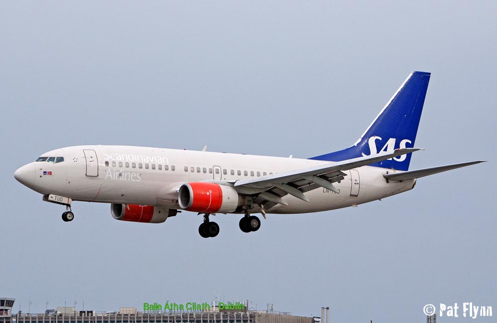 Scandinavian Airlines Boeing 737