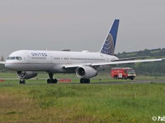 United Airlines 71 Shannon Airport