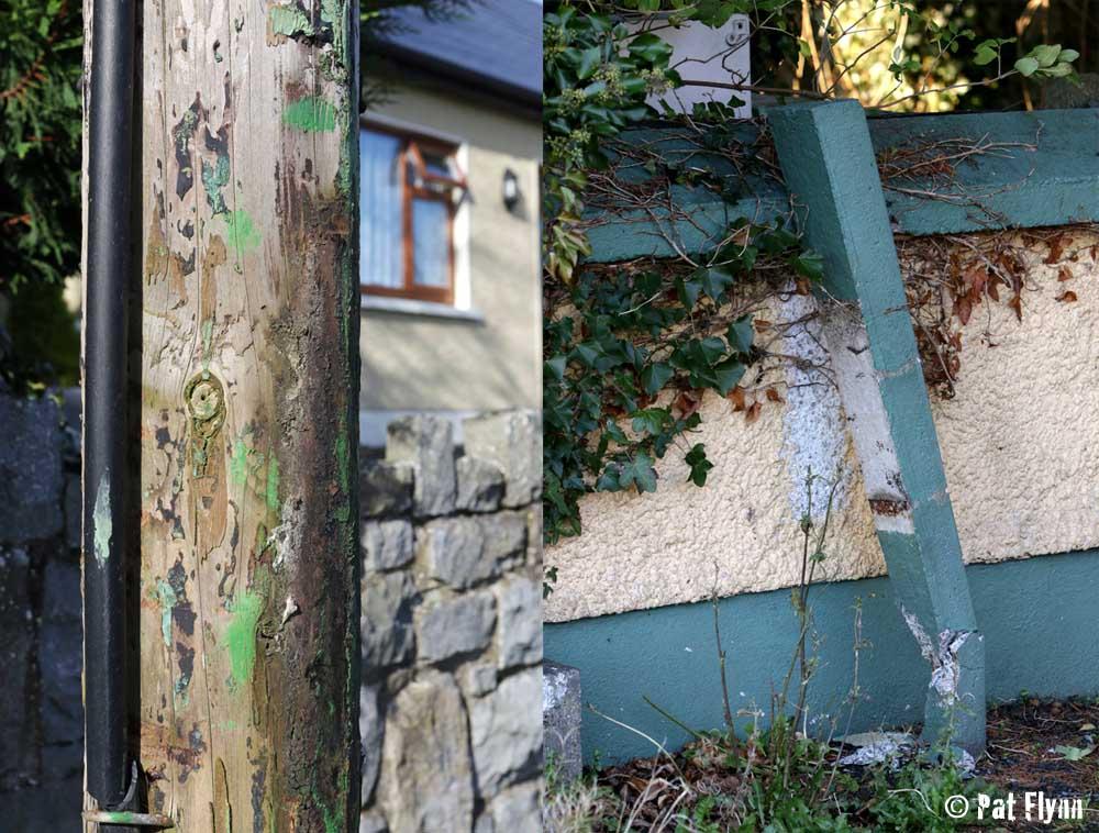 Stolen Post Box Poles