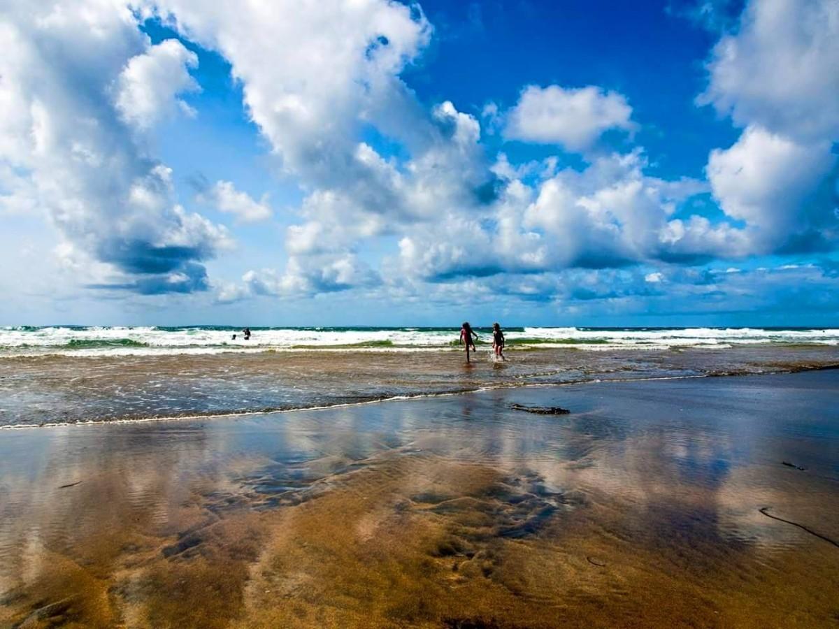 Fanore beach. Pic Danny Powell