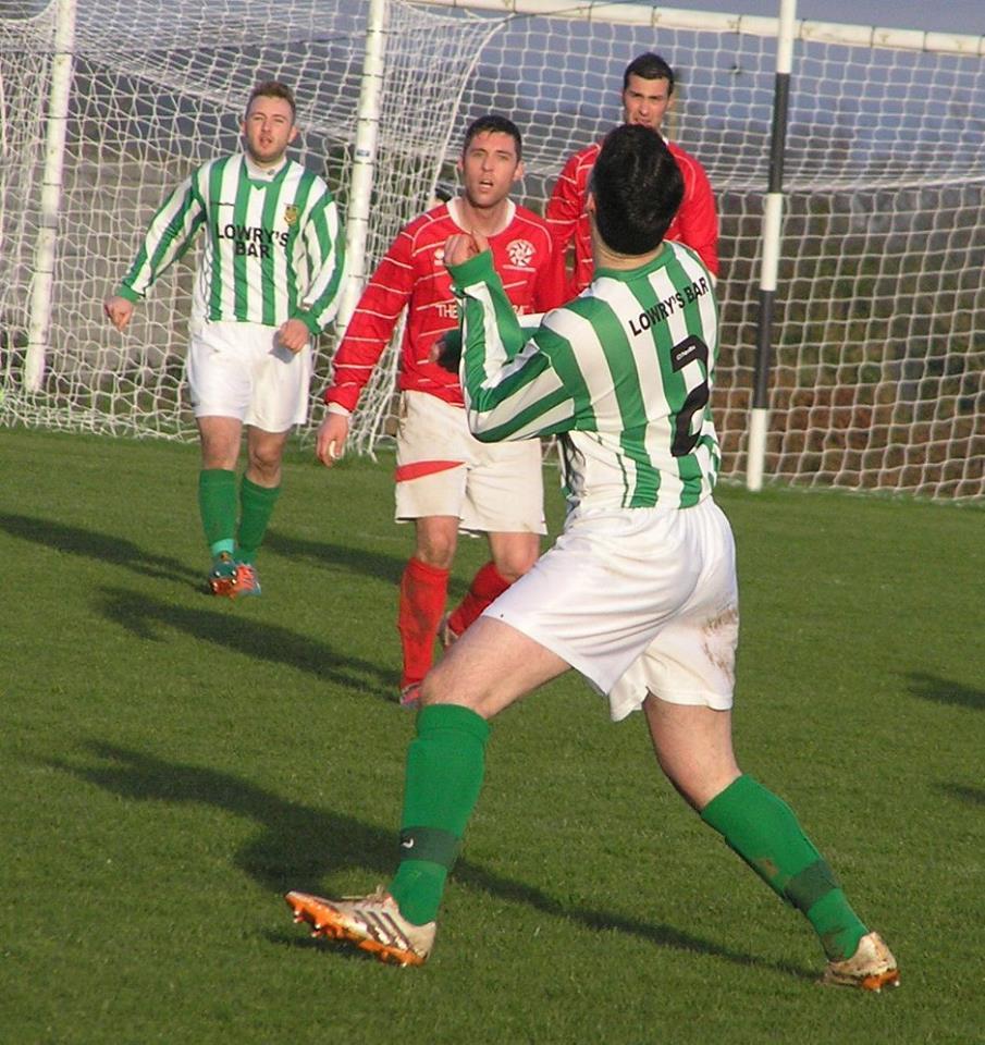Newmarket Celtic vs St Michaels 10-01-15 1