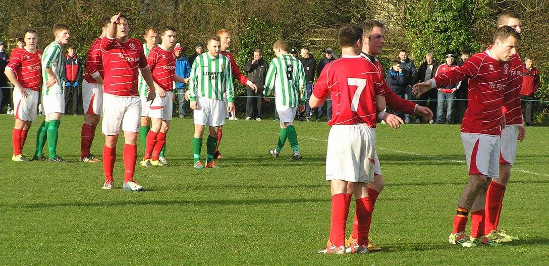 Newmarket Celtic vs St Michaels 10-01-15 2