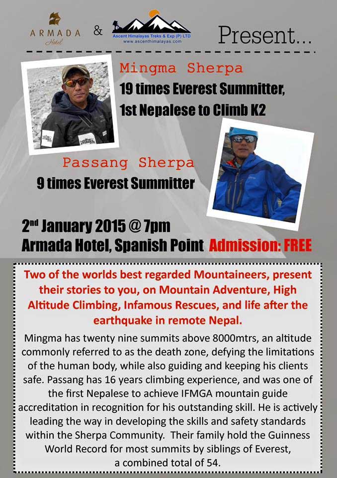 Sherpa Talk