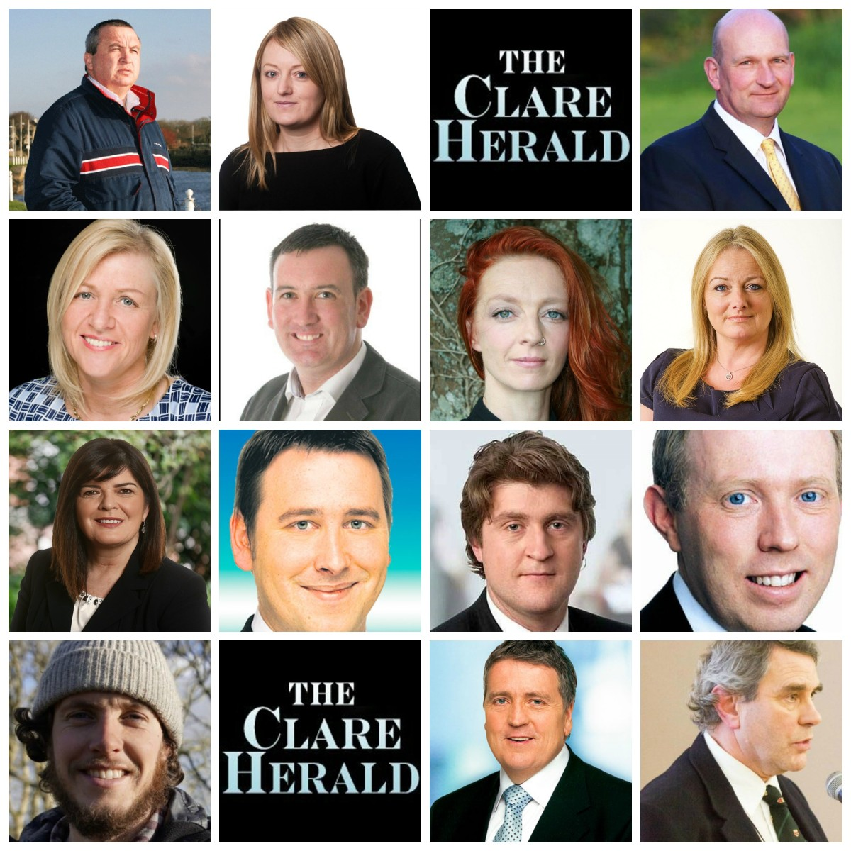 Clare General Election 2016 Candidates