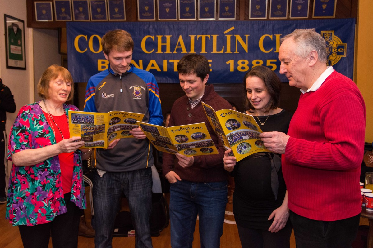 The Tradraí Editorial Committee; Bridie O'Looney, Ryan Corry, Páraic McMahon, Annmarie Meehan & Con Woods