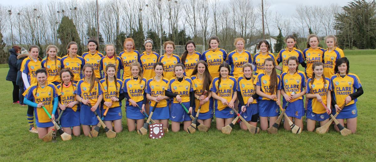 The Clare U16A side. Picture: Caroline O'Keeffe