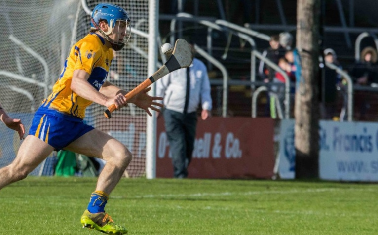 Shane O'Donnell captains the Clare team this Sunday. Pic Gary Collins