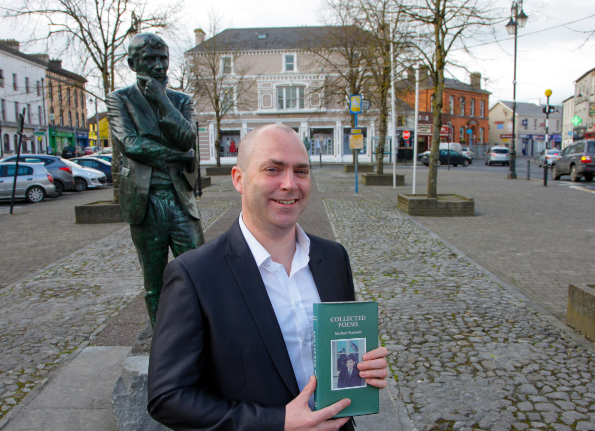 Novelist Donal Ryan who officially launched the 2016 Eigse Michael Hartnett Literary & Arts Festival in Newcastle West, County Limerick this week.