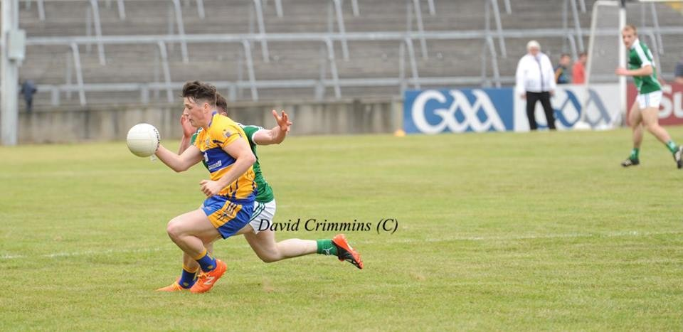 Keelan Sexton kicked 0-04 for Kilmurry/Ibrickane. Pic: David Crimmins