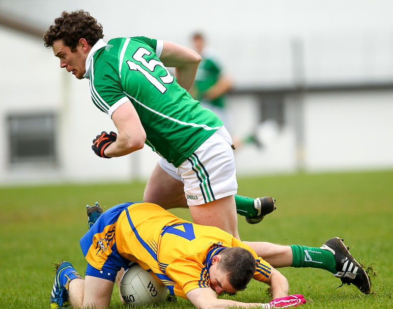 Ian Ryan will renew acquaintances with Martin McMahon this Sunday in the Gaelic Grounds.