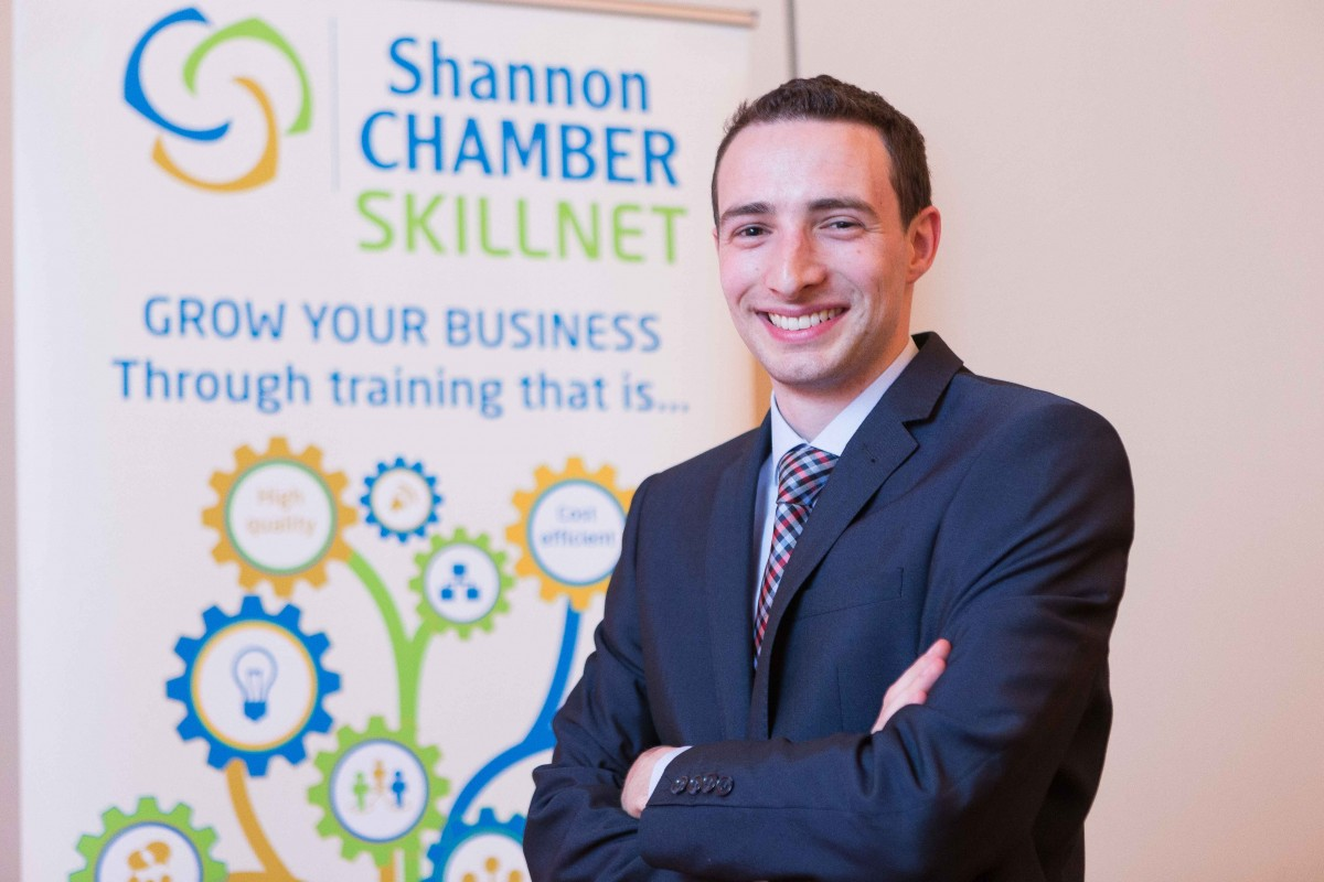 Cillian Griffey, Shannon Chamber Skillnet Network Manager [6915695]