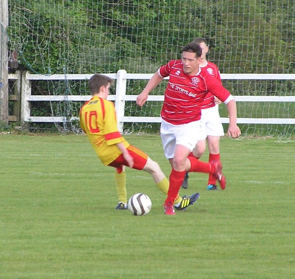 Paddy Purcell in action. Pic: Oliver Fitzpatrick