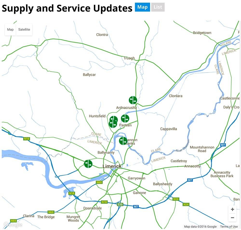 Parteen Water Supply Update