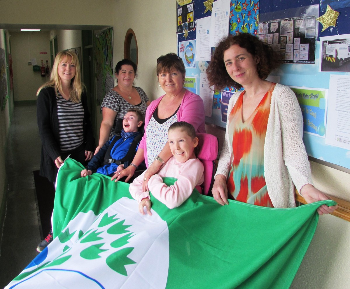 St Clare's School Green Flag