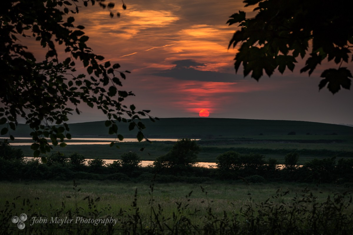 A sunset overlooking the River Shannon. Pic: John Meyler