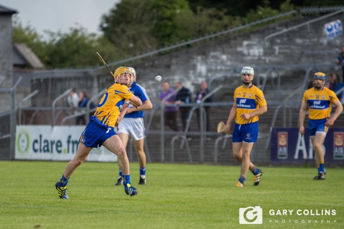 Colm Galvin will have a big role to play this Sunday. Pic: Gary Collins