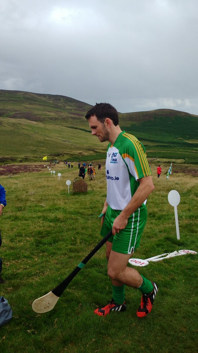 James McInerney on the Cooley Mountains.