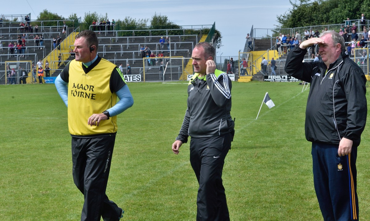 Mick Bohan & David O'Brien. Pic: Martin Connolly