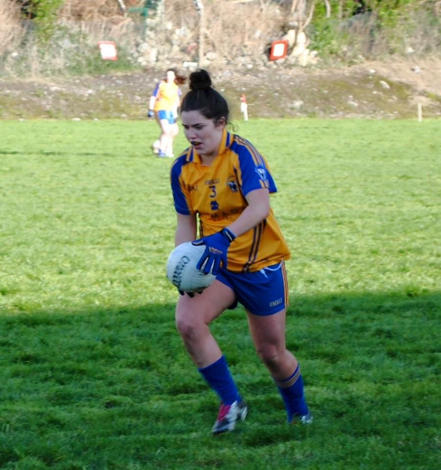 Clare captain, Laurie Ryan.