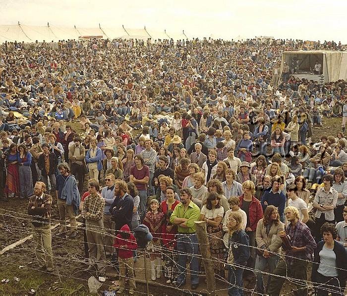 Crowds at the Lisdoonvarna Folk Festival. Pic: Michael John Glynne
